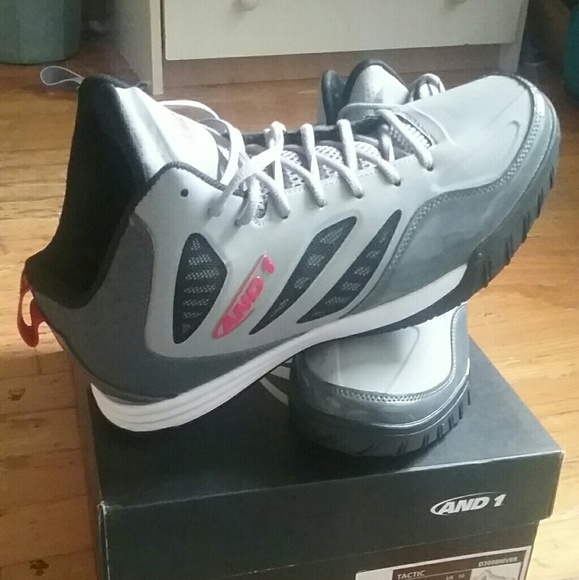 AND1 basketball men's sneakers size 11 NWT